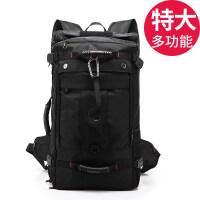 新款双肩包男旅行大容量行李背包户外登山包多功能手提休闲出差旅游包