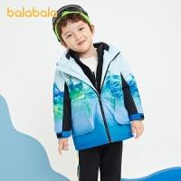 【1.27超品 3件3折:137.7】巴拉巴拉童�b男童外套套�b����棉衣�和�冬�b�_�h衣�杉�套