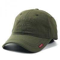 韩版帽子男士棒球帽鸭舌帽女夏天遮阳帽防晒太阳帽青年百搭休闲帽 可调节