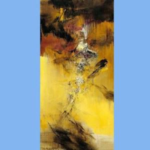 华裔法国油画家,西方抒情抽象派的代表,法兰西画廊终身画家,法国美术学院教授,曾获法国骑士勋章赵无极(光)11