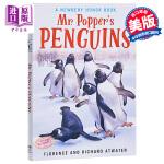 波普先生的企鹅 英文原版 Mr. Popper's Penguins 纽伯瑞儿童文学奖银奖