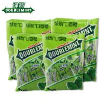 【包邮】箭牌 绿箭口香糖 薄荷味 300g×5包 袋装 休闲糖果