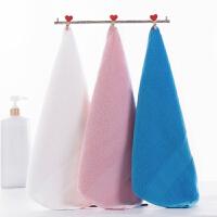 时尚方巾纯棉3条装柔软吸水卡通全棉纱布洗脸家用擦手小毛巾