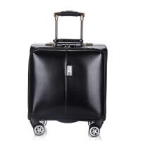 拉杆箱万向轮18寸商务旅行箱软箱密码箱行李箱登机皮箱包可商务 18寸