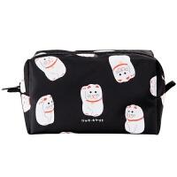 原创设计东京印象系列尼龙化妆包创意插画旅行收纳包