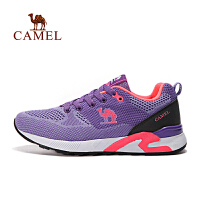 camel骆驼户外女款越野跑鞋 女士低帮透气防滑跑步鞋