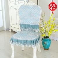 餐椅垫坐垫欧式椅子垫套装四季布艺座垫家用板凳套餐桌布套罩定制