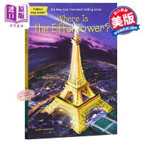【中商原版】埃菲尔铁塔在哪里? 英文原版 Where Is the Eiffel Tower?