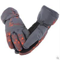 男士手套冬季滑雪手套加厚保暖手套户外运动防寒手套