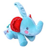 Fisher-Price费雪小象安抚巾宝宝助眠安抚公仔新生婴儿宝宝玩具