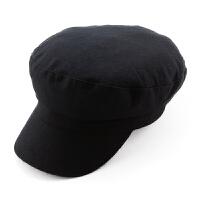 帽子男冬天韩版时尚潮秋冬休闲毛呢帽贝雷帽鸭舌帽平顶帽海军帽