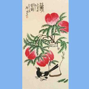 生前为国家一级美术师,中国美协会员,中国画研究会理事,北京市政协委员娄师白(益寿)