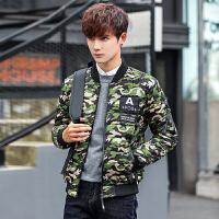 男款外套冬季新款2017韩版 潮牌短款青年学生bf棉袄时尚迷彩棉衣 GaoTeng8098