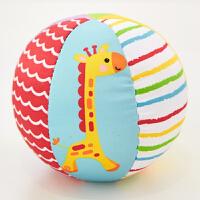 费雪(Fisher Price)玩具儿童玩具球 动物认知球F0807宝宝摇铃球F0806