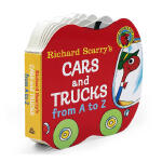 Richard Scarry's Cars and Trucks from A to Z【英文原版】斯凯瑞:汽车与货车