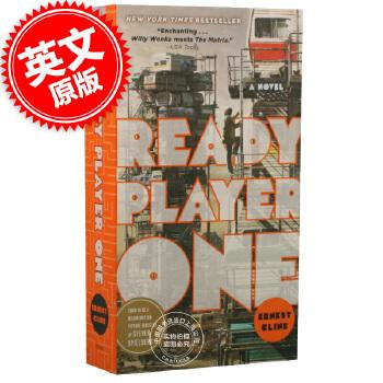 现货 头号玩家 英文原版 Ready Player One 斯皮尔伯格 同名电影小说 一号玩家准备 进口原版图书 科学幻想