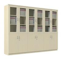 办公家具办公室文件柜木质资料柜档案柜书柜板式储物柜子带锁 400mm