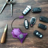 复古纯手工牛皮钥匙包车用钥匙包男汽车遥控钥匙套女小钥匙袋情侣