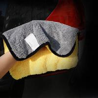 汽车洗车毛巾加厚车用擦车布吸水不掉毛清洁用品洗车工具
