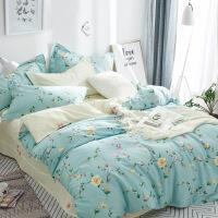 棉四件套1.8米床印花套件居家单双人床品棉四件套纯棉