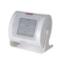 家用迷你取暖器暖风机办公室电暖机静音小型宿舍电暖器 白色