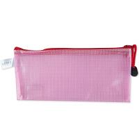 广博(GuangBo)12只装防水票据袋/小号彩色拉链文件袋 单色颜色随机A6115