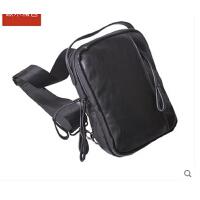 新款胸包男潮 个性背包 单肩小包包 商务运动韩版小挎包