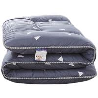 日式加厚折叠榻榻米床垫床褥子打地铺睡垫1.5m单人1.2米学生宿舍 款 爱巢-厚10cm