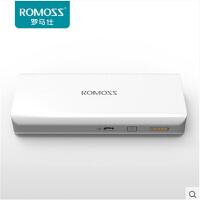 手机通用充电宝移动电源超薄手机移动电源充电宝通用 ROMOSS/罗马仕 sense4 正品10000+毫安移动电源 移
