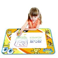 儿童益智神奇魔法水画布 宝宝早教学习水写布绘画涂鸦毯送笔