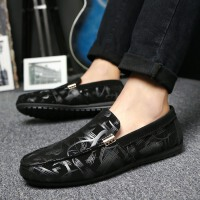 DAZED CONFUSED 潮牌夏季豆豆鞋男个性潮鞋低帮韩版休闲鞋青年男鞋时尚百搭一脚蹬