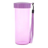 [当当自营]特百惠水杯 莹彩430随手杯便携防漏简约塑料男女学生儿童运动杯子 雏菊紫