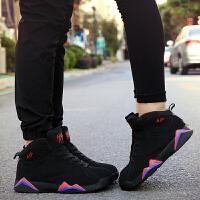 春季高帮篮球鞋男士运动鞋男鞋时尚韩版透气休闲鞋子学生潮流女鞋球鞋