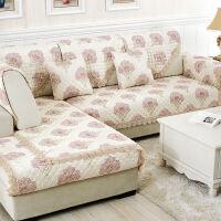 沙发垫套装欧式仿亚麻