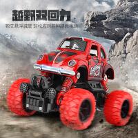 迷你越野车Q版赛车儿童汽车玩具可开门惯性巴士男孩回力车