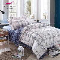 [当当自营]维众家纺 学生三件套床单被套单人布拉格1.2米床