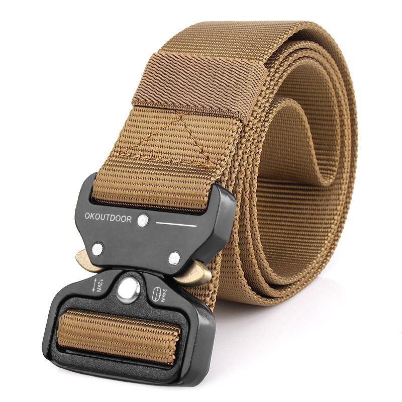 眼镜蛇战术腰带 男多功能军迷户外用品特种兵黑鹰作训内尼龙腰带