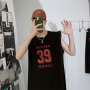 夏季无袖T恤男背心运动外穿马甲潮牌个性潮流ins坎肩纯棉砍袖嘻哈