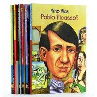 【中商原版】Who Was 艺术家系列6册套装 英文原版 儿童读物 儿童文学 初级章节书 青少年