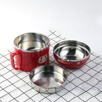 白领公社 日式饭盒 多层手提便携带盖饭盒密封陶瓷微波炉可加热保鲜泡面碗便当盒