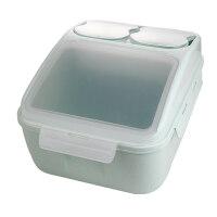 装米桶家用防潮防虫小麦密封米桶家用20斤 厨房10kg储面箱米柜加厚防潮储米箱装米盒