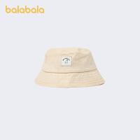 【1.27超品 2件5折:30】巴拉巴拉�和�帽子秋季男�����O夫帽可�勰型�遮�帽棉麻