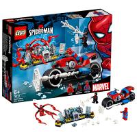 【当当自营】乐高LEGO 超级英雄系列 76113 蜘蛛侠摩托车救援任务
