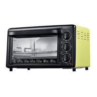 家用烘焙蛋糕披萨上下统一控温电烤箱 黄色