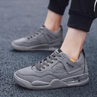 时尚运动鞋男士复古跑步鞋加绒保暖男棉鞋休闲旅游鞋