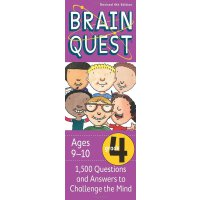 英文原版 Brain Quest Grade 4, Revised 4th Edition 智力开发系列