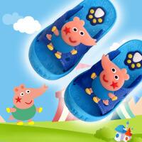 儿童拖鞋夏季 男女童宝宝室内软底防滑凉拖家居浴室洗澡防滑一字拖