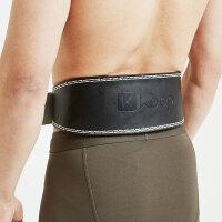 Keep 牛皮力量腰带健身护腰运动护具真皮支撑加压保护腰椎
