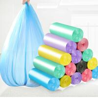 10卷装垃圾袋彩色垃圾袋家用加厚新料韧性耐用垃圾袋