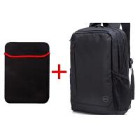 适用于戴尔双肩电脑包15.6寸男女旅行背包学生书包笔记本双肩包世帆家SN2161 15.6英寸